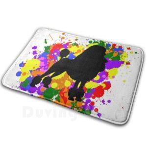 LGBTQ+ colors bath mat